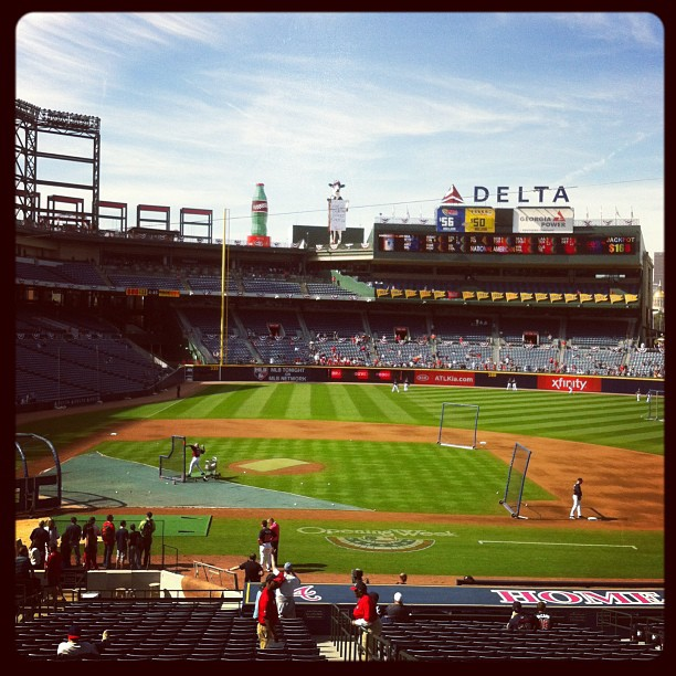 Turner Field in Atlanta Gerogia