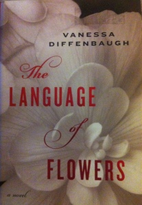 book cover, the language of flowers