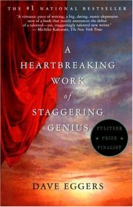 a heartbreaking work of staggering genius book cover