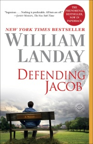 Defending Jacob, book cover